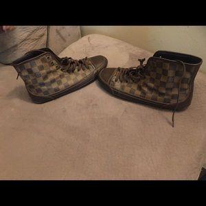 Louis Vuitton Damier Ebene Sneakers